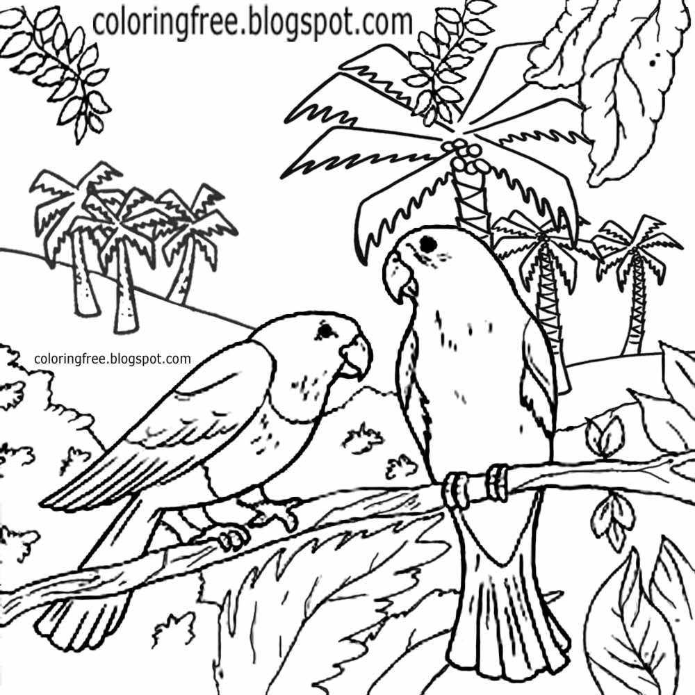 Ayers Rock Australia Coloring Page
