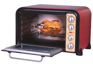 Lò nướng đa năng có thể nướng được nhiều loại thực phẩm