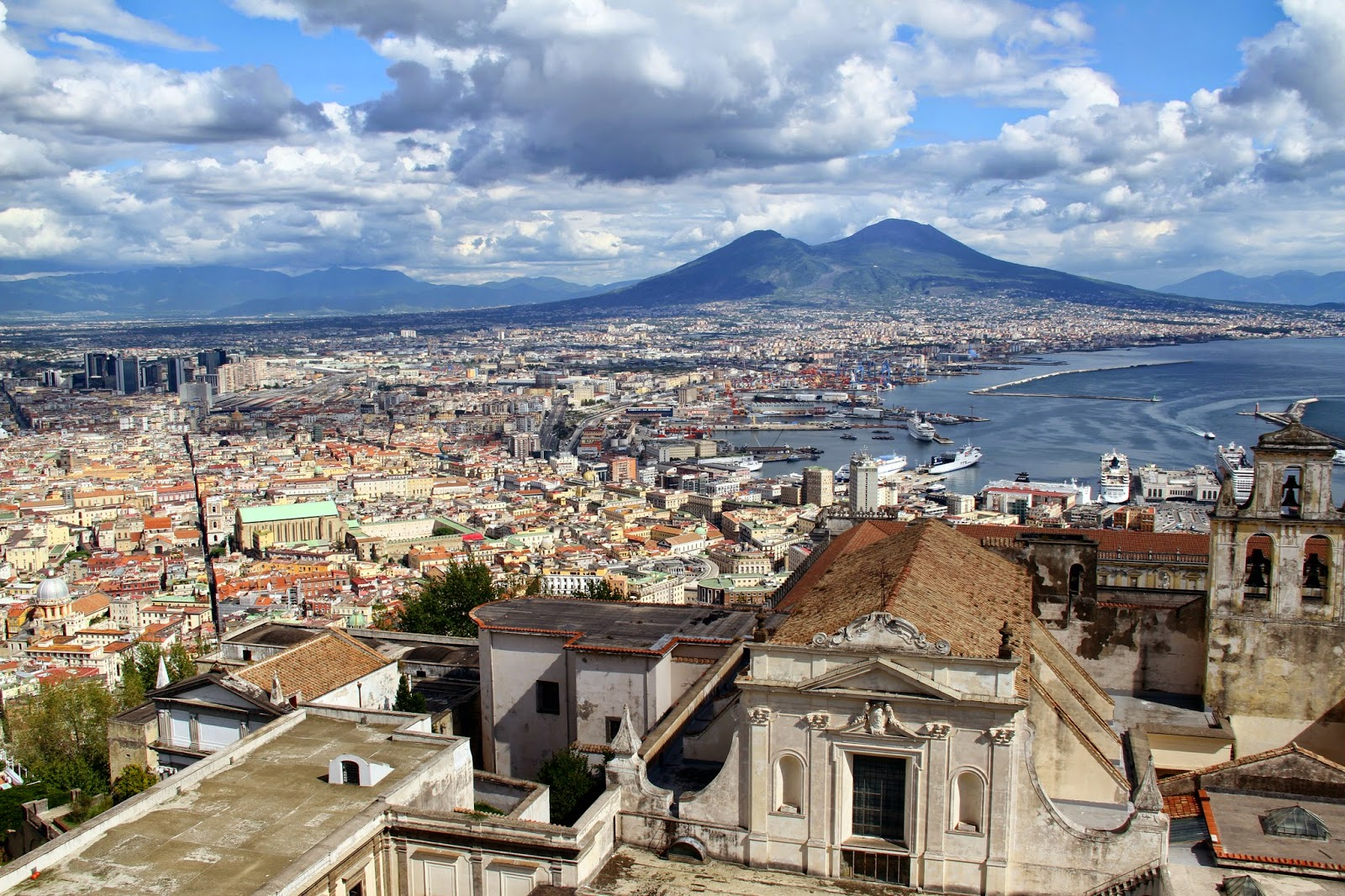 mt vesuvius, naples, italy, amalfi coastline