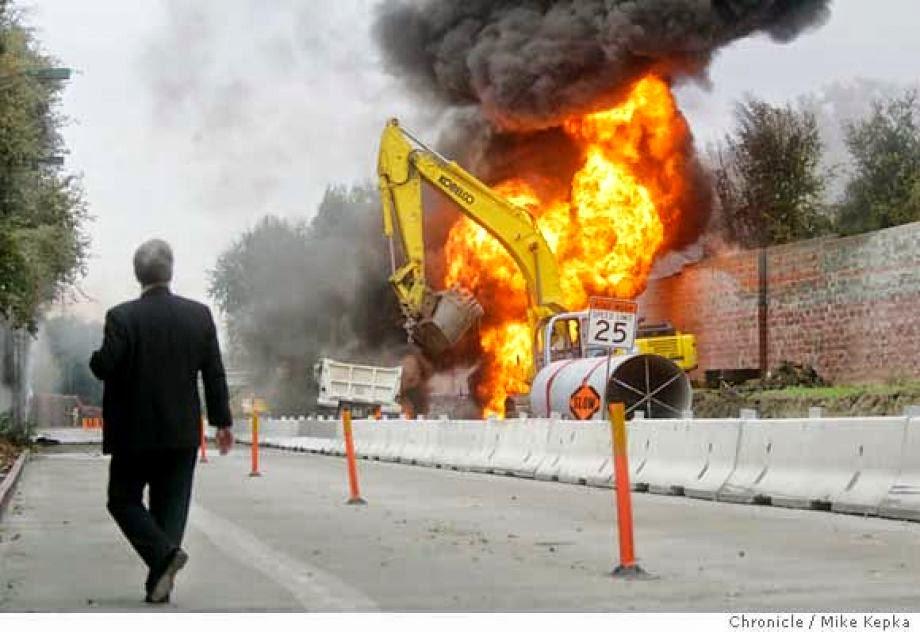 The 2004 Walnut Creek Pipeline Explosion >> Bay Area