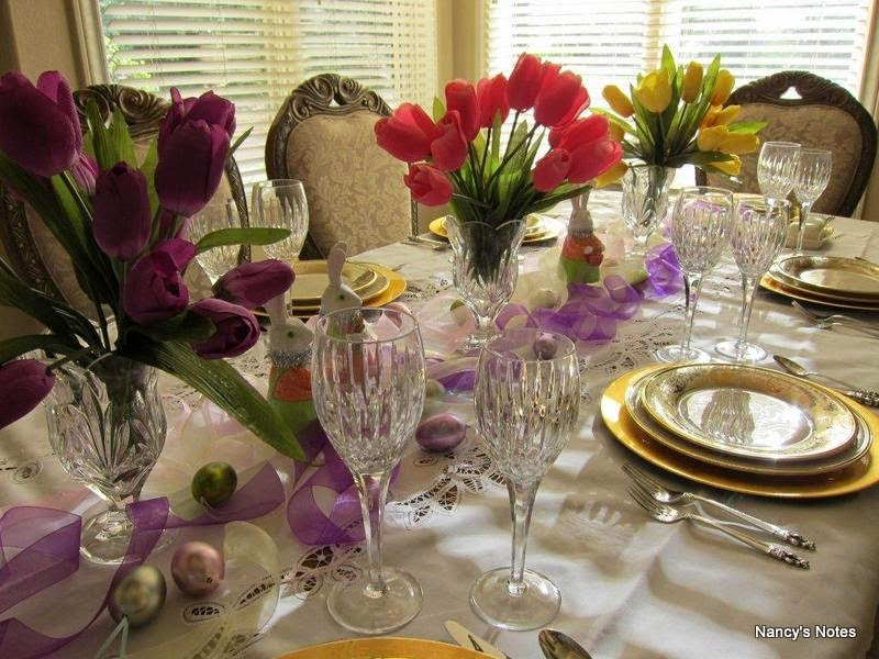 Easter Tablescape~
