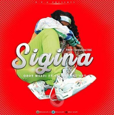 Download Audio   Qboy Msafi Ft. Stino - Sigina