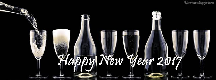 new year 2017 facebook Cover images