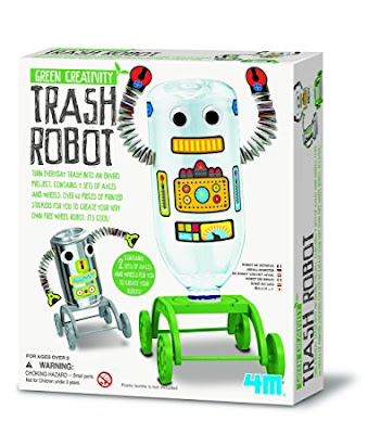 Trash robot kit