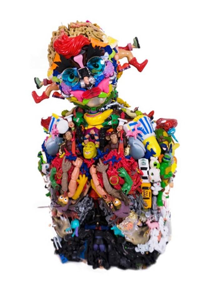Freya Jobbins. Неоднозначные скульптуры 23