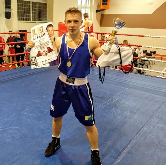 Jakub Zimoch, boks, sport, Zielona Góra, zwycięstwo, wygrana, Leszno, ćwicznia, sporty walki