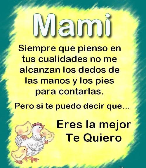 Mensajes del de la madre para mamá