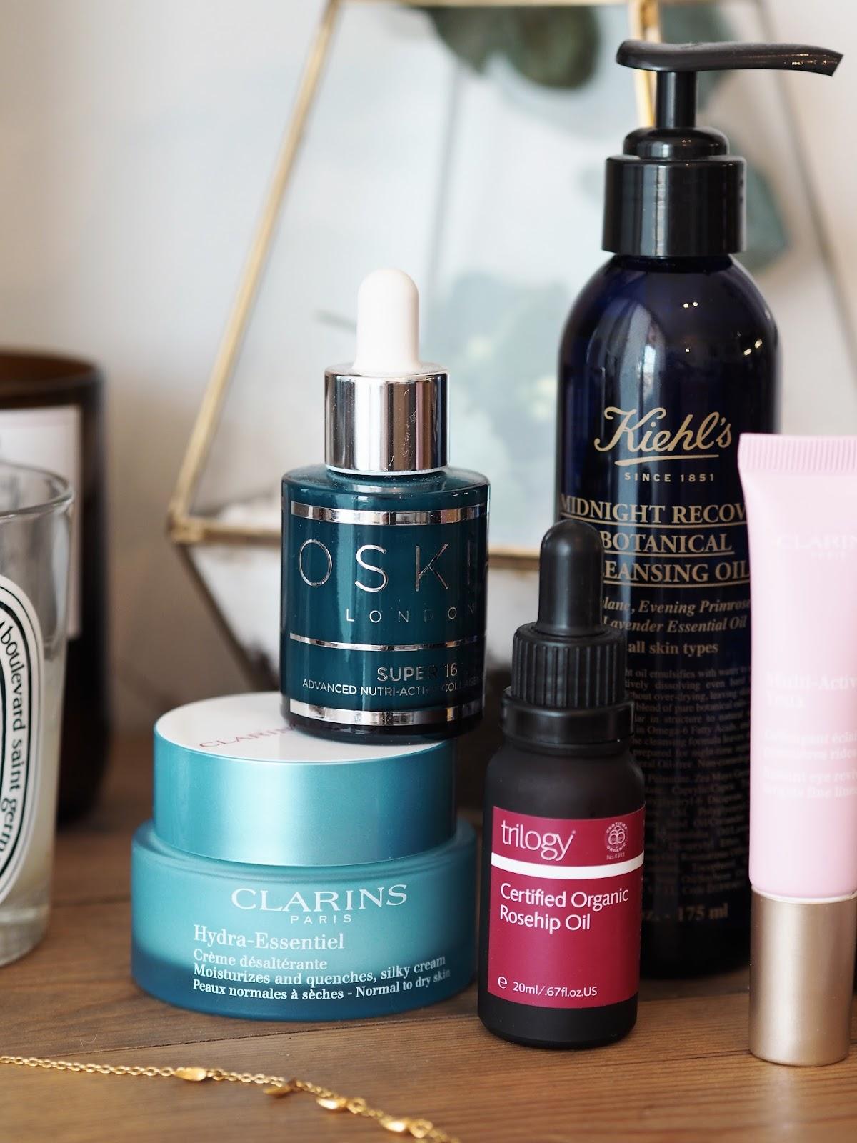 Skincare for dry skin