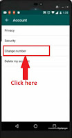 whatsapp mobile number change