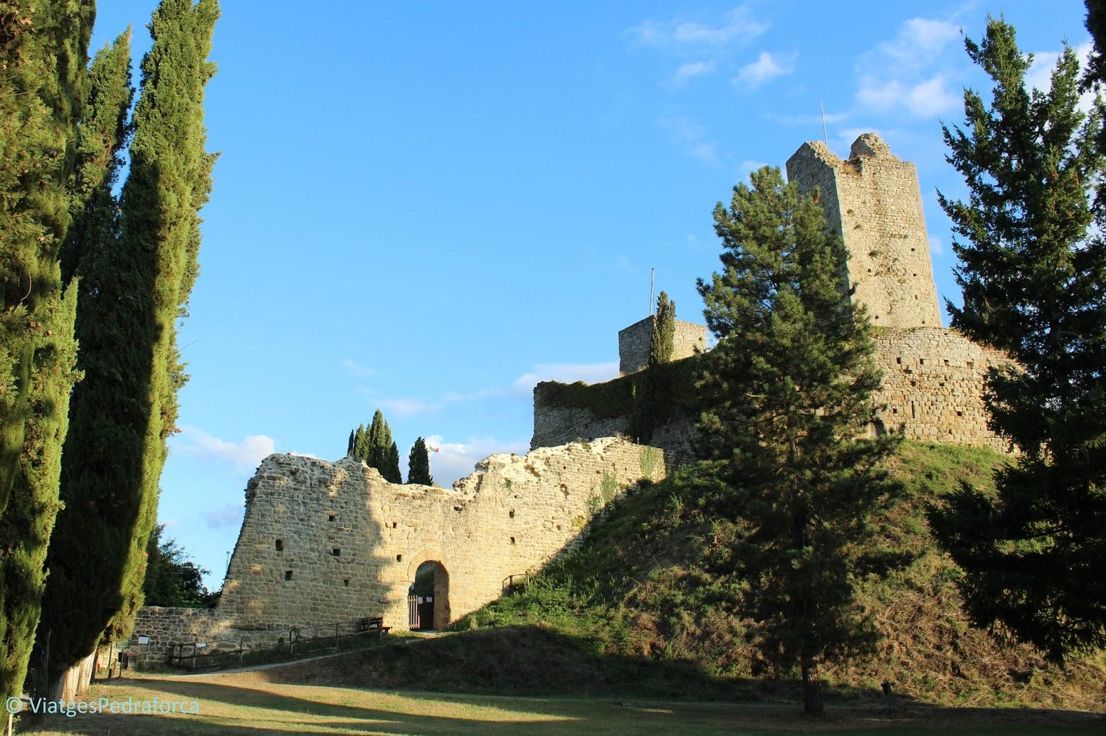 Parco nazionale delle Foreste Casentinesi, senderisme, Itàlia