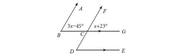 memuat materi mengenai hubungan antara dua garis Soal Uji Kompetensi Materi 7 Garis dan Sudut