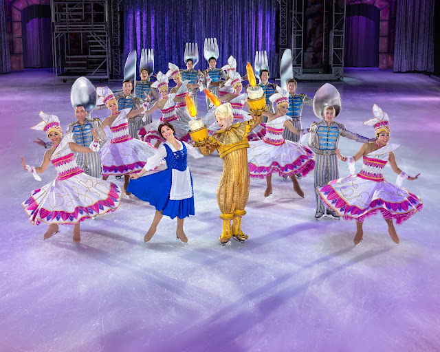 Belle cast Disney On Ice