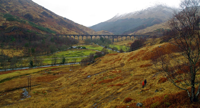 Glenfinnan Viaduct Scottish Highlands