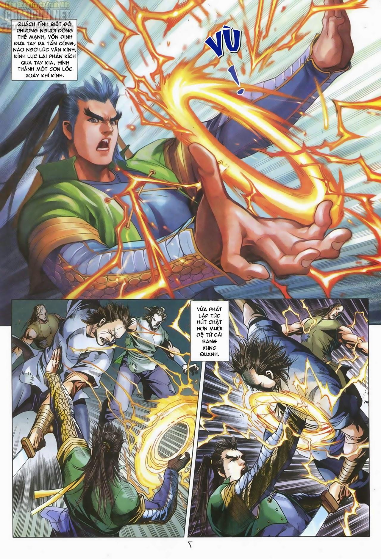 Anh Hùng Xạ Điêu anh hùng xạ đêu chap 67: quyết chiến hiên viên đài trang 6