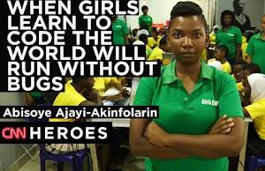 Genius Beautiful Nigerian Lady Abisoye Wins CNN Heroes Awards 2018