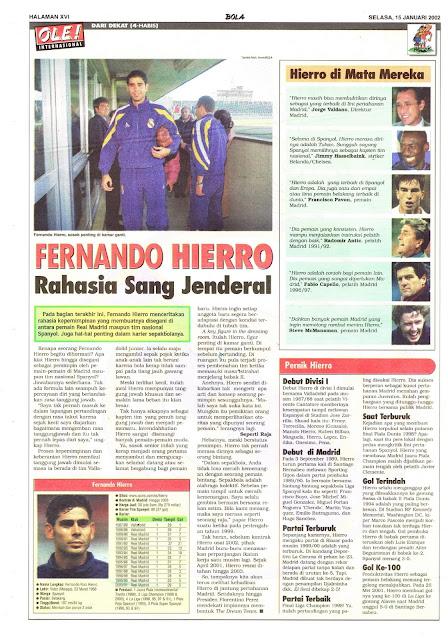 DARI DEKAT: FERNANDO HIERRO