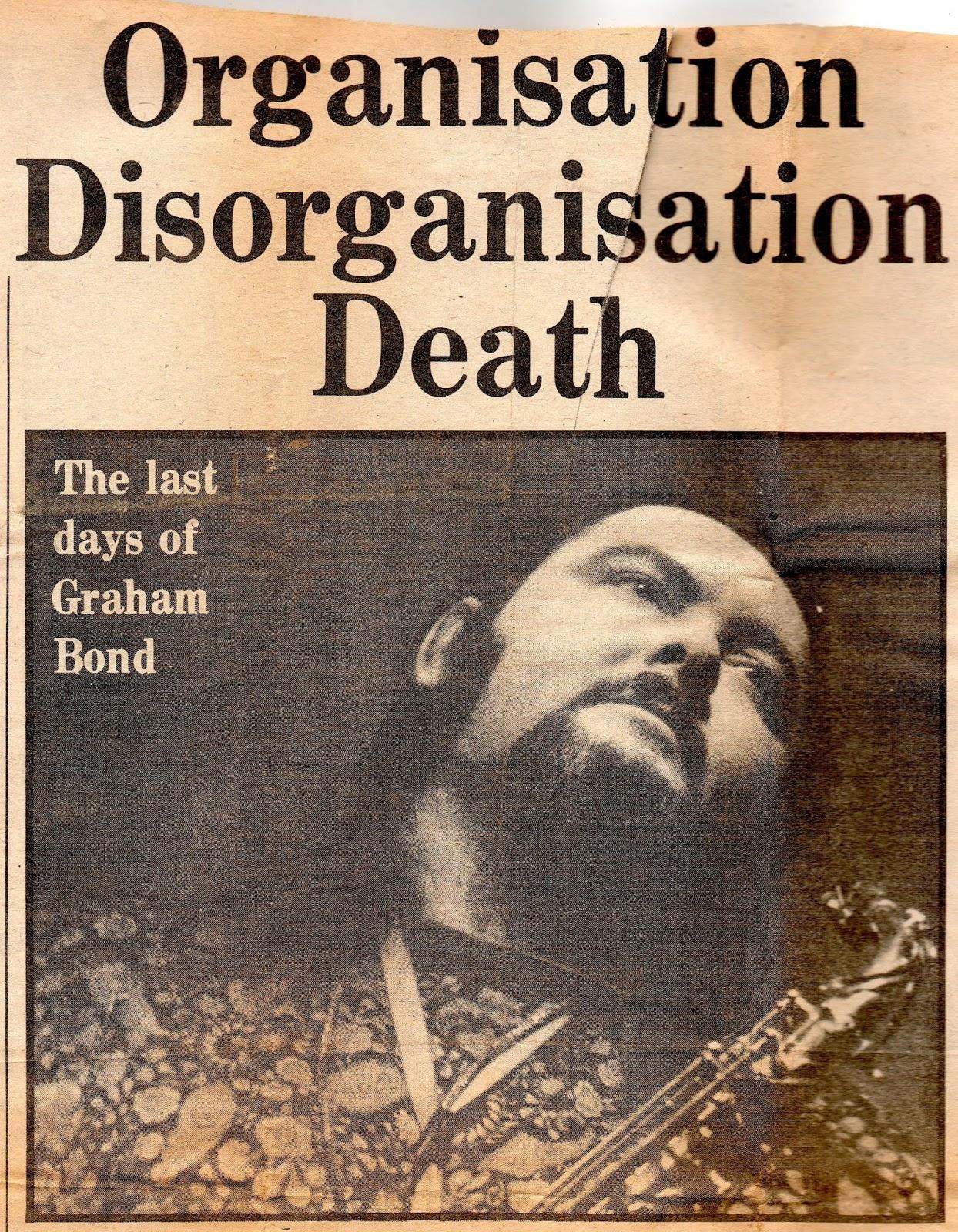 Eight Miles Higher: Sixties Music: GRAHAM BOND