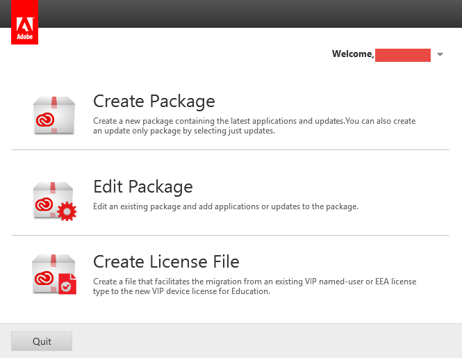 Robot Ramblings: Packaging Acrobat DC with Creative Cloud for SCCM 2012