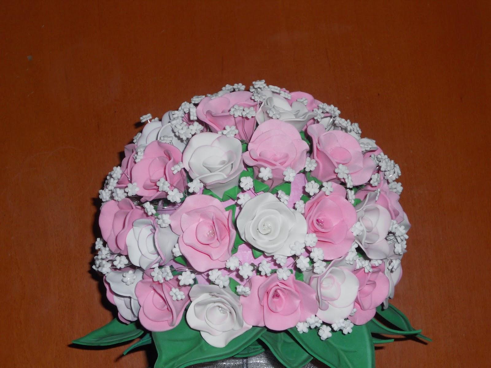 d0fbd820cd1 El Rincón de la Decoración  Ramo de flores en goma eva