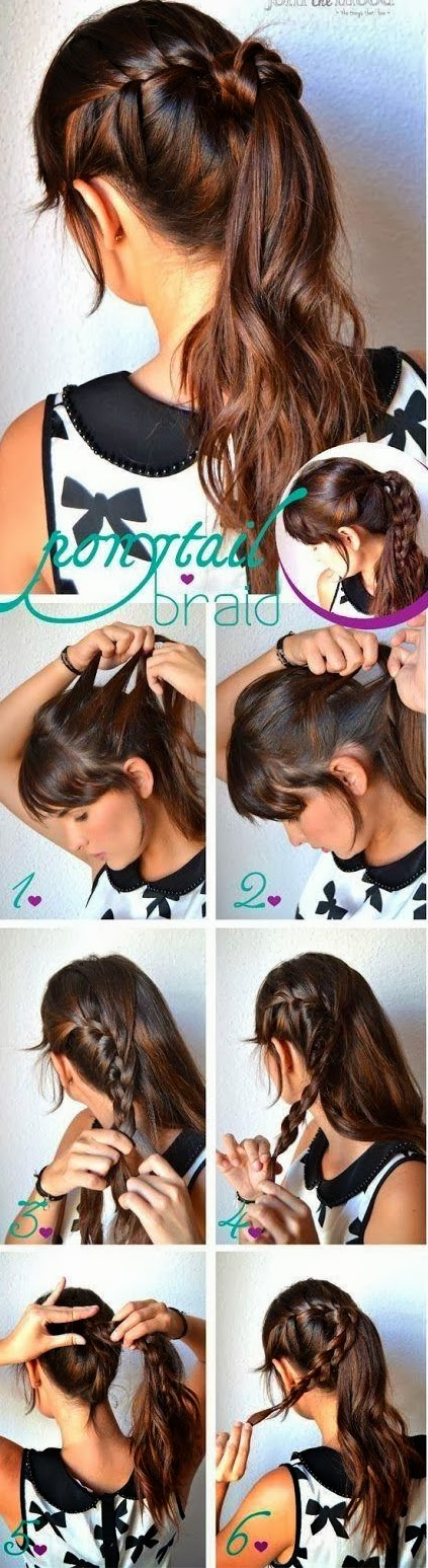 Coiffure simple et rapide a faire soi meme - Creation facile a faire soi meme ...