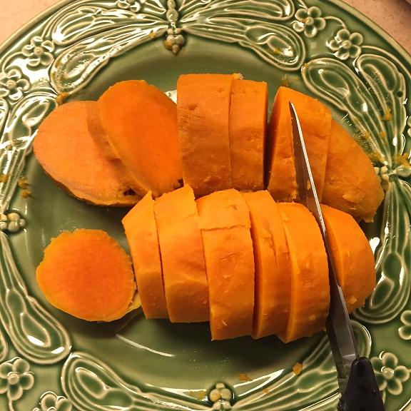 Dishfunctional Designs How To Easily Peel Boiled Sweet Potatoes