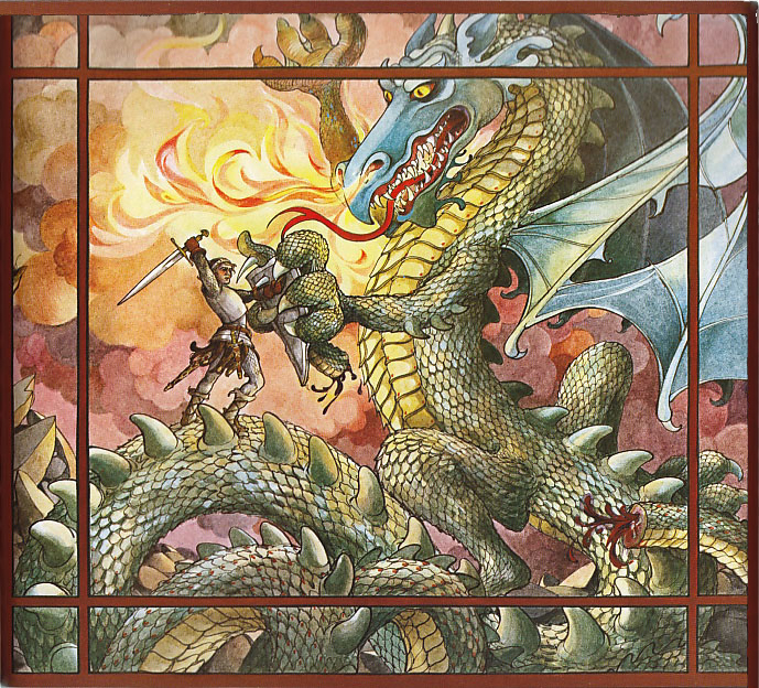 Really Good Reads: Saint George and the Dragon