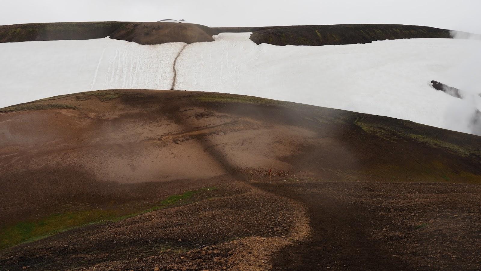 trasa Laugavegur I Fimmvodurhals, trekking Islandia