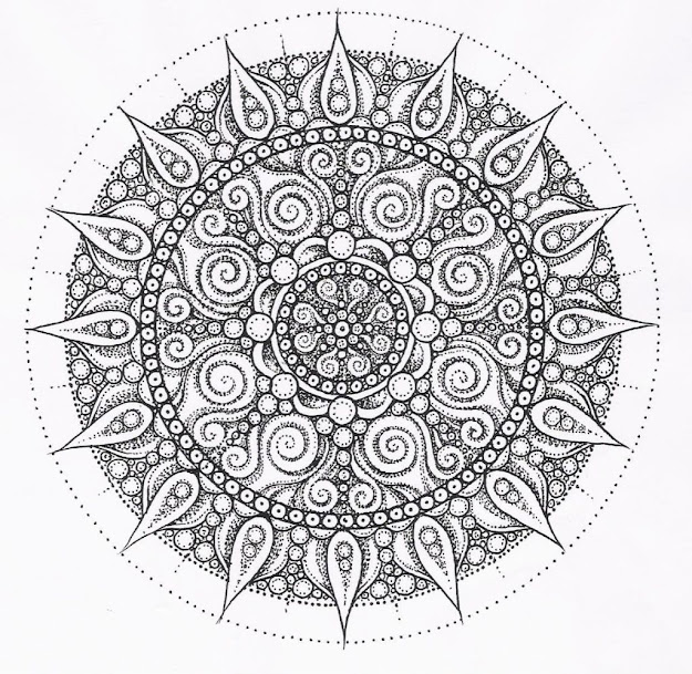 Free Printable Mandala Coloring Pages For Adults Coloring Printable