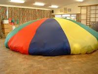 Parachute Game Mushroom