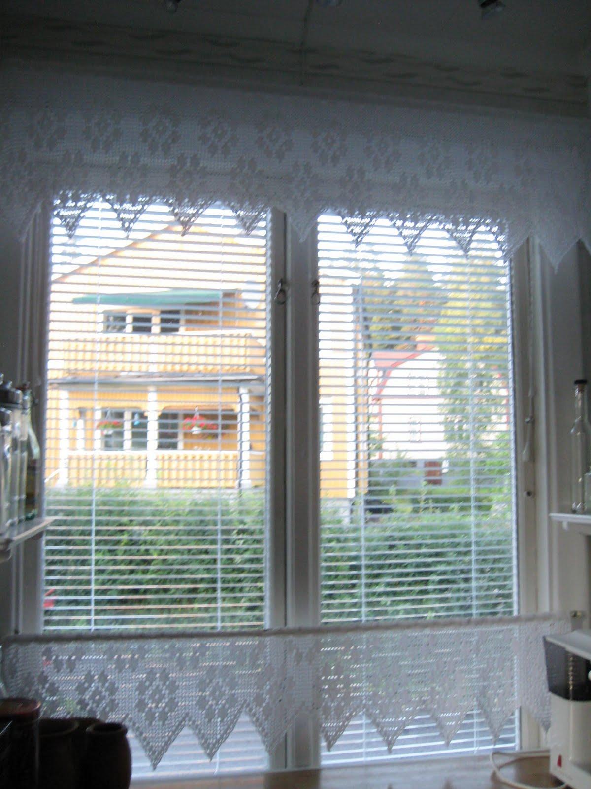 hæklede gardiner Hvad er livet uden garn ?: Endelig Sverige hæklede gardiner