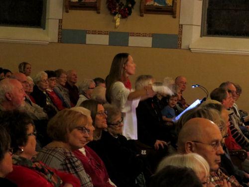 handbell choir director