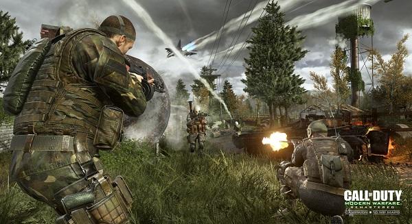 tembakan dengan sudut pandang orang pertama yang waktu itu dirilis tahun  Info Spesifikasi Call of Duty 4 Modern Warfare Remastered