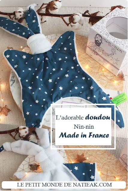 avis sur nin-nin : le doudou Made in France remplit d'amour