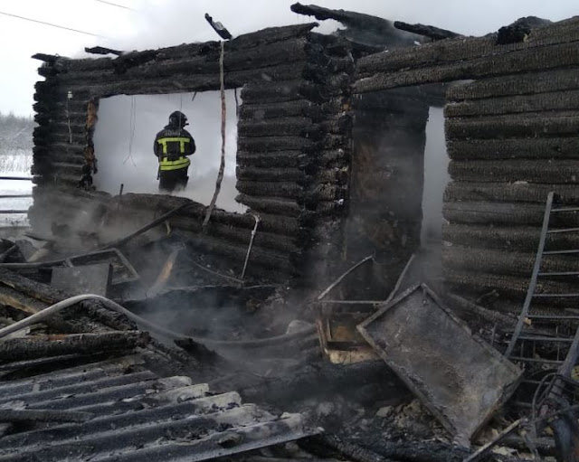 В Башкирии пожар унёс жизни женщины и троих детей
