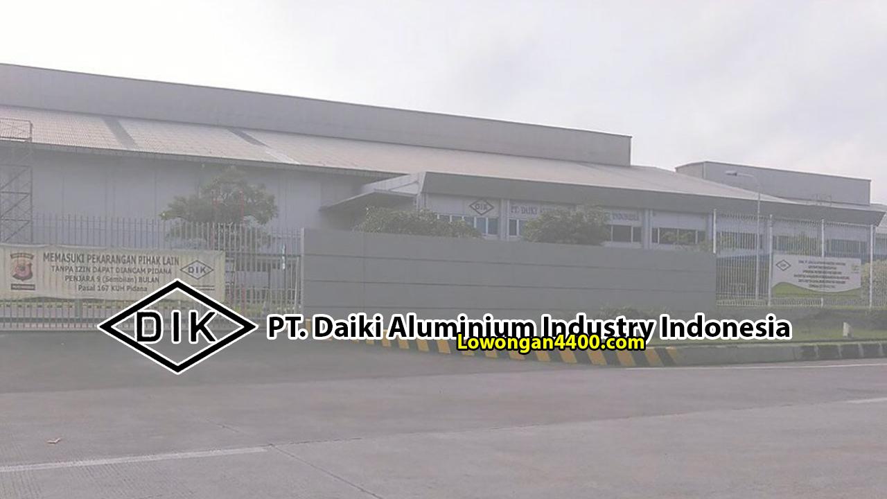 PT. Daiki Aluminium Industry Indonesia Karawang