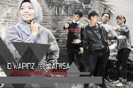 Lirik Lagu Menantimu Datang - D'wapinz feat Aniisa