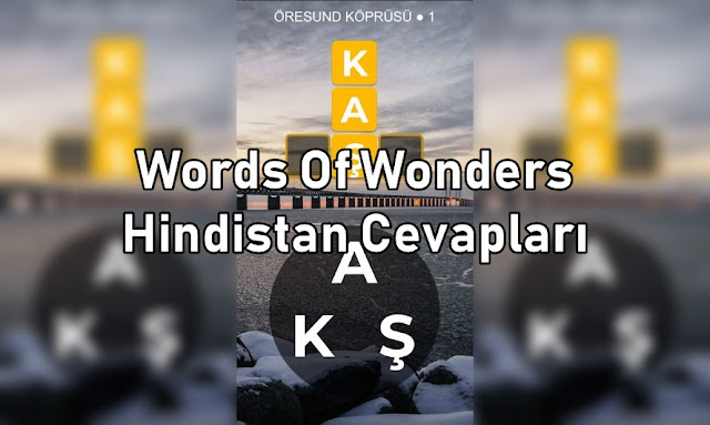 Words Of Wonders Hindistan Cevaplari