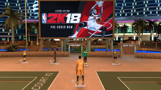 NBA 2K18 [ Modded Version ] Complete with APK and Data / OBB File