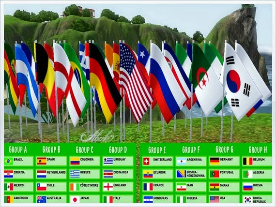 My Sims 3 Blog Flags By Abuk0