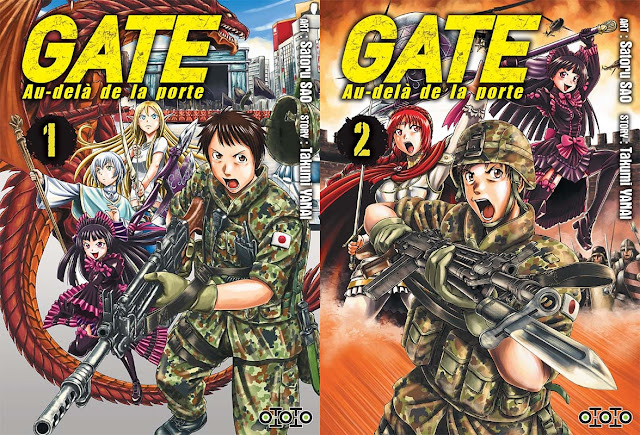 Actu Manga, Gate - Au-delà de la Porte, Manga, Ototo, Seinen, Shonen,