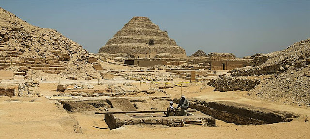 Tomb site in Sakkara