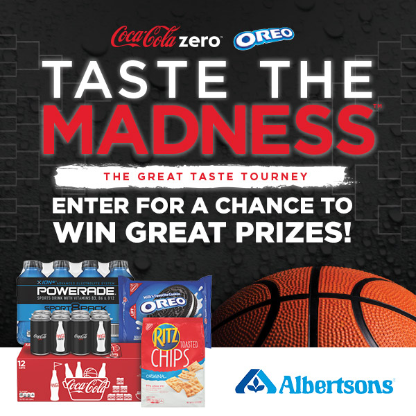 Taste the Madness with the March Madness Sweepstakes from Coke Zero and OREO. #GreatTasteTourney #CollectiveBias #ad