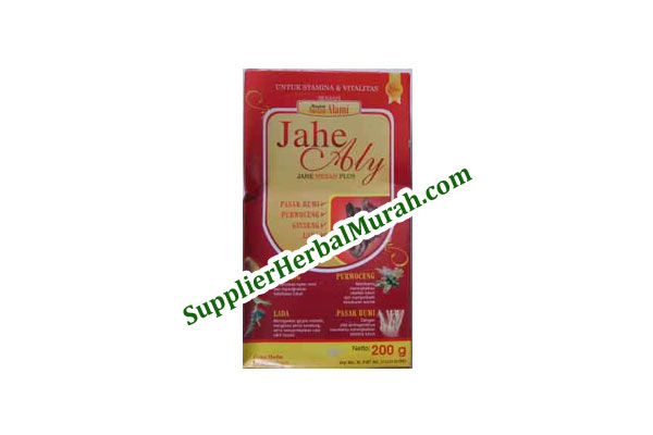 Jahe Aly (Jahe Merah + Purwoceng + Pasak Bumi + Gingseng + Lada