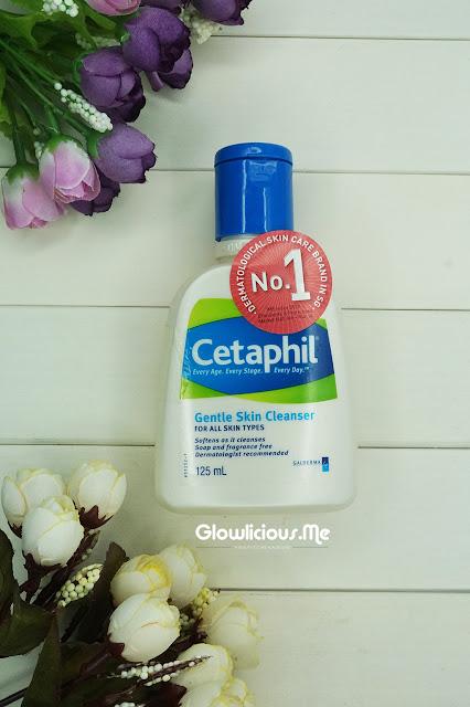 Cetaphil Gentle Skin Clenaser & Moisturising Cream Review