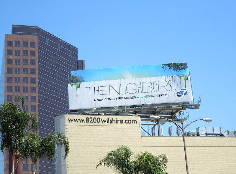 The Neighbors TV billboard