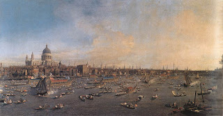 Canaletto, Londres