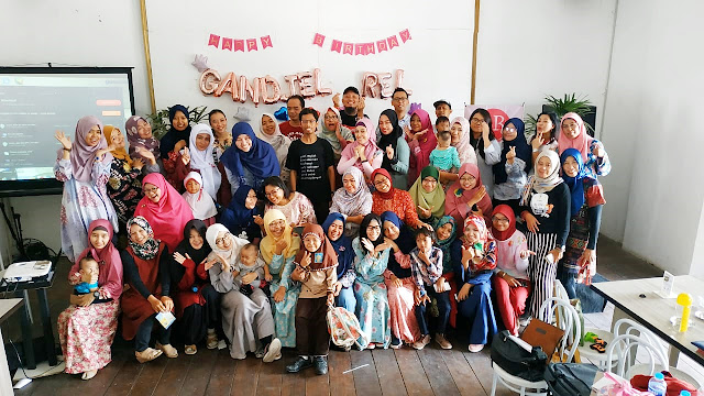 Para member Gandjel Rel dari luar kota Semarang pun ikut bergabung dalam kemeriahan acara ultah yang ke-4.