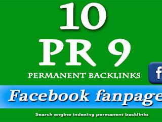 Rahasia Menanam Backlink Dofollow PR 9 dari Facebook