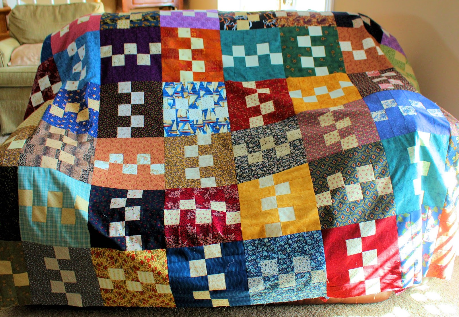14 PeonyStreet Quilts: Buttercream Twist designed by Kim Diehl.....Made  Bigger