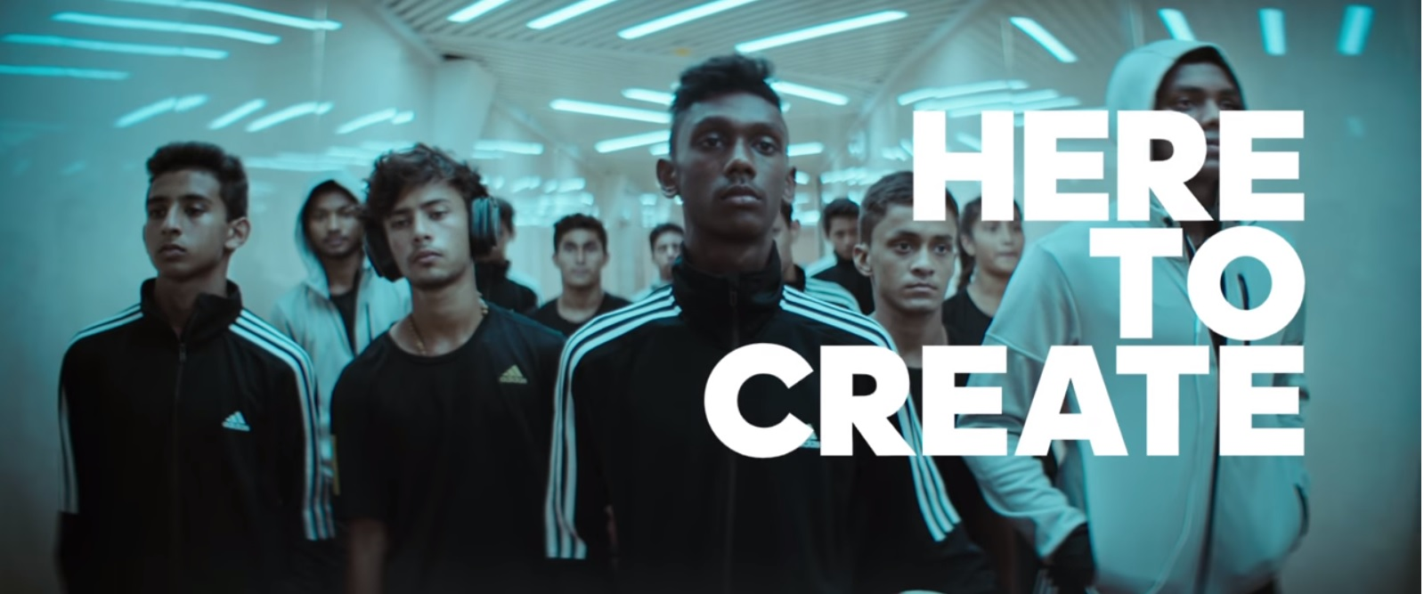 a7a0c7ebd #HereToCreate Adidas Unveils its Campaign for the FIFA U-17 World Cup in  India